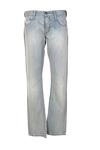 mustang jeans homme de couleur bleu