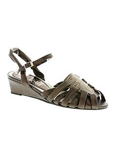 Sandales/Nu pieds marron CORINE pour femme