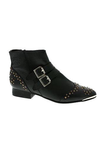 ephemere for ever chaussures femme de couleur noir