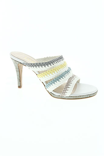 lodi chaussures femme de couleur blanc