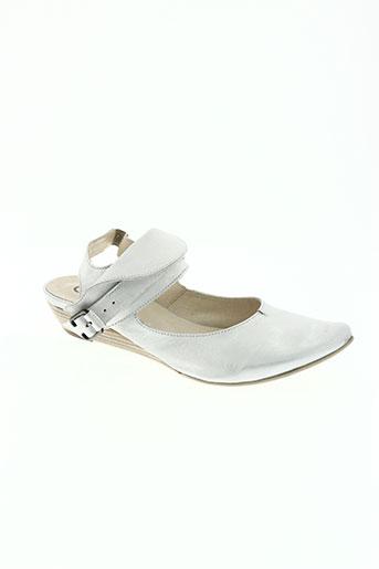 corine chaussures femme de couleur gris