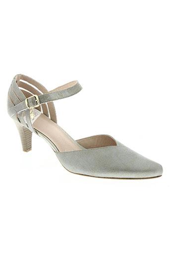 swett chaussures femme de couleur gris