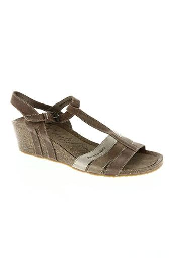panama jack chaussures femme de couleur marron