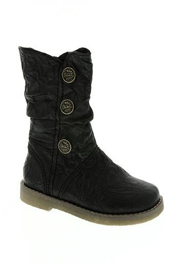 diesel chaussures garçon de couleur noir