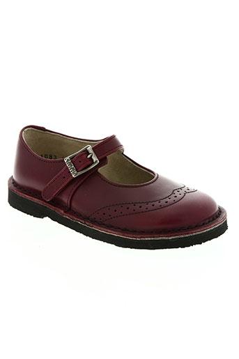 start rite shoes chaussures fille de couleur rouge