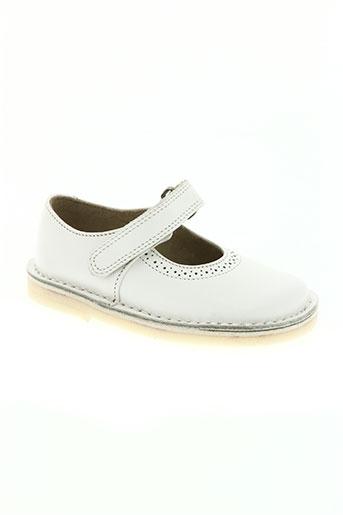 start rite shoes chaussures fille de couleur blanc