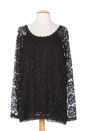 jensen chemises femme de couleur noir
