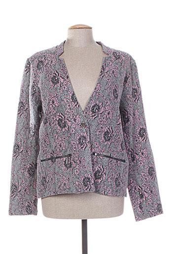 brandtex vestes femme de couleur gris