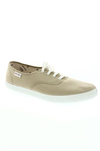 victoria chaussures homme de couleur beige
