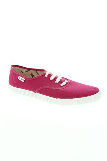 victoria chaussures garçon de couleur rose