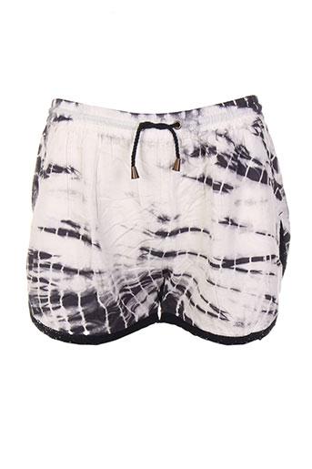 kaporal shorts / bermudas fille de couleur noir