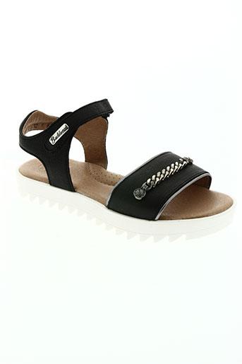 isabella balducci chaussures fille de couleur noir