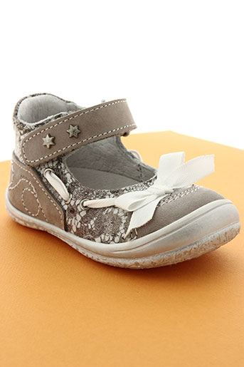 bellamy chaussures fille de couleur beige