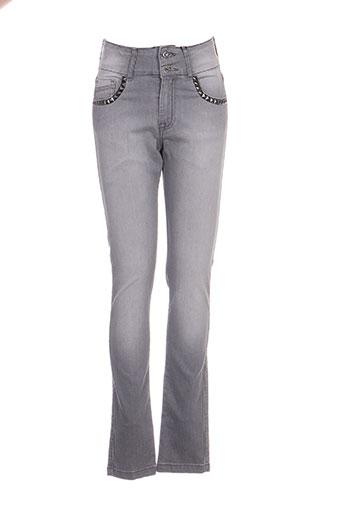 missimini jeans femme de couleur gris