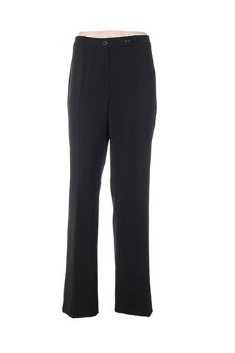 ozko pantalons femme de couleur noir