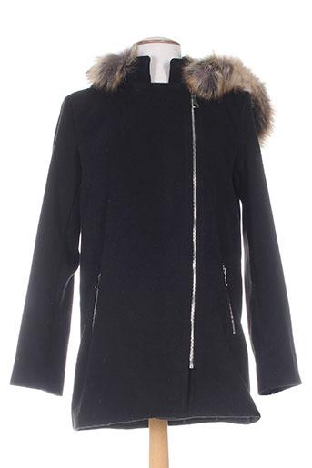 atlanta manteaux femme de couleur noir