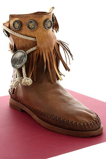 karma of charme chaussures femme de couleur marron