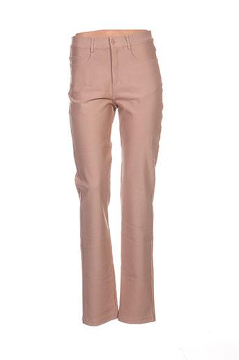 bugarri pantalons femme de couleur beige