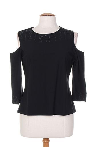 maloka chemises femme de couleur noir