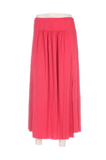maloka jupes femme de couleur rouge