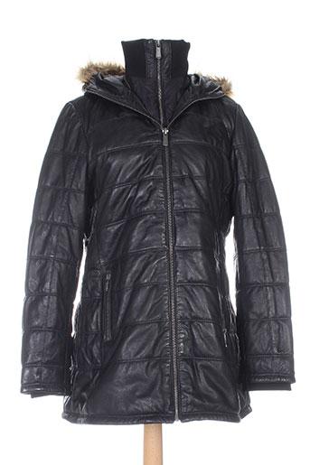deercraft manteaux femme de couleur noir