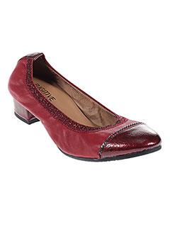 69fc1e94fb0 Chaussures FUGITIVE Femme De Couleur Rouge En Soldes Pas Cher - Modz