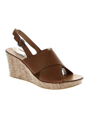 226 shoes chaussures femme de couleur marron