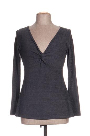 timono chemises femme de couleur gris