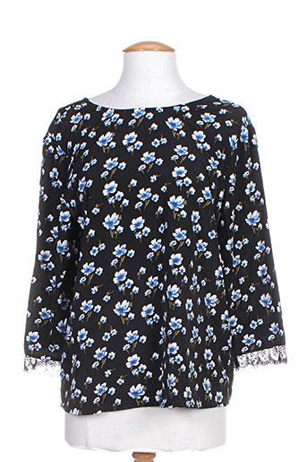 cerise blue chemises femme de couleur noir