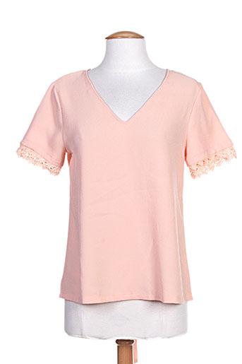 noemie EFFI_CHAR_1 co chemises femme de couleur rose