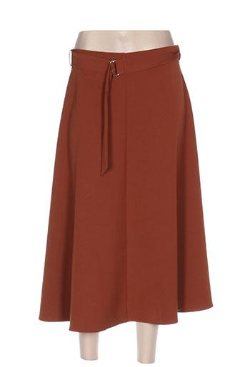 my collection jupes femme de couleur marron