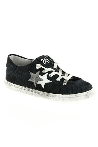 star chaussures fille de couleur noir