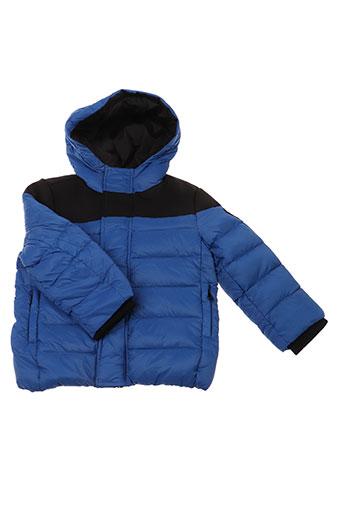 gertrude + gaston manteaux garçon de couleur bleu