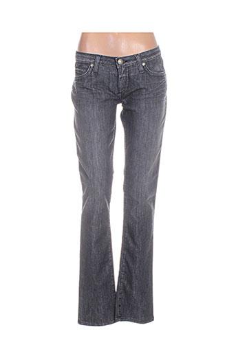 robin's jean jeans femme de couleur gris