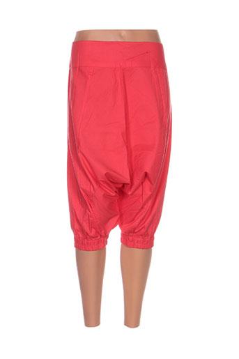 kamakala pantalons femme de couleur orange