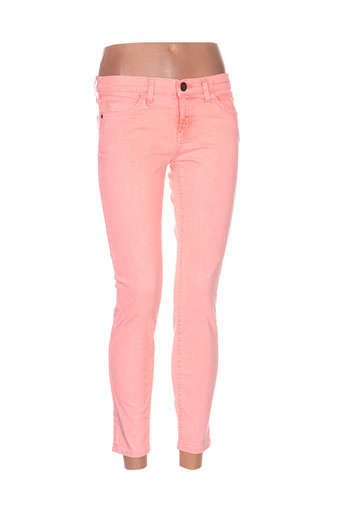 Pantalon 7/8 orange CURRENTE/ELLIOTT pour femme