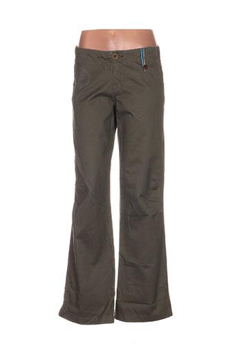 Pantalon casual vert AEM'KEI pour homme