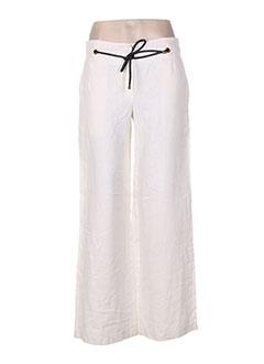Pantalon casual beige CLASS pour femme