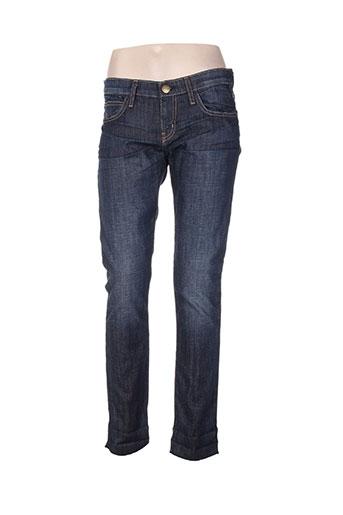 currente/elliott jeans femme de couleur bleu