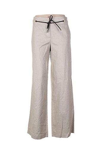Pantalon casual gris CLASS pour femme