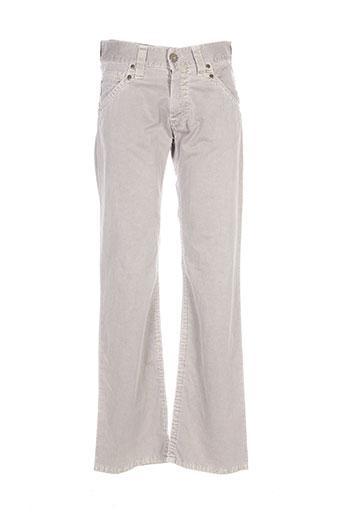 armani pantalons homme de couleur beige
