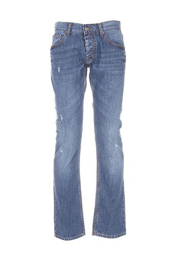 ferre jeans homme de couleur bleu