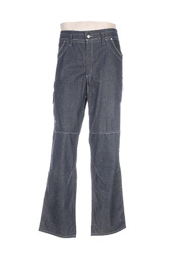 fristads jeans homme de couleur bleu