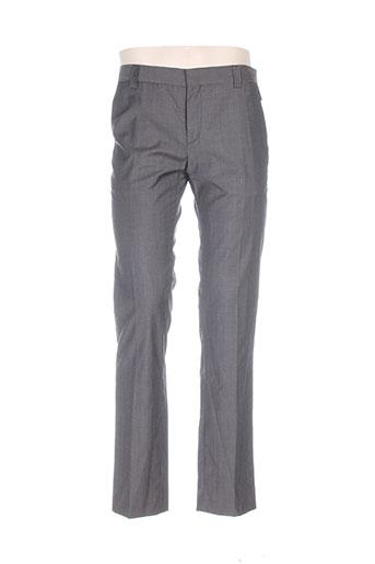 Pantalon chic gris BILL TORNADE pour homme