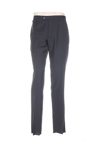Pantalon chic noir LOUIS PURPLE pour homme