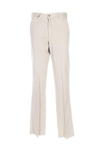 Pantalon casual beige HENRY COTTON'S pour homme