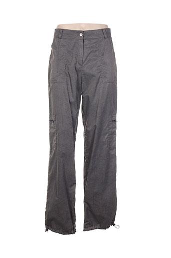 my moon pantalons femme de couleur gris