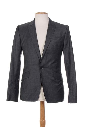 Veste casual gris BILL TORNADE pour homme