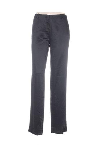 ilaria nistri pantalons femme de couleur noir