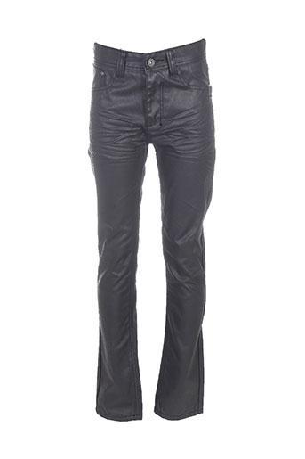 biaggio pantalons garçon de couleur noir
